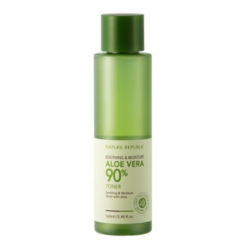 Nature Republic Aloe Vera 90% Soothing & Moisture Toner 蘆薈舒緩保濕爽膚水
