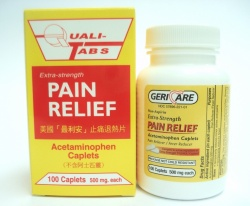 Extra-Strength Pain Relief Caplet最利安止痛退熱片