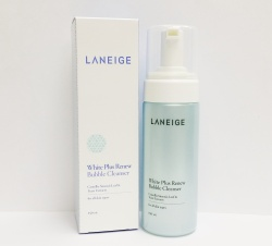 Laneige 蘭芝 Bubble Cleanser White Plus Renew 雪漾亮白潔面泡沫
